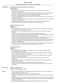 Senior Architect Resume Senior Architect Resume Samples Velvet Jobs 2