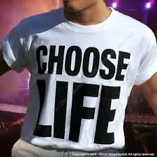 george michael wham choose life. Exellent Michael Image Is Loading CHOOSELIFEWHAMReplicaGeorgeMichaelTShirt With George Michael Wham Choose Life M
