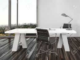 picnic office design. Modern Home Office Interior Design With Two Chairs On Either Side Of A White Desk Picnic E