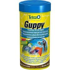 <b>TETRA Guppy</b> Основной <b>корм</b> для всех видов Гуппи хлопья
