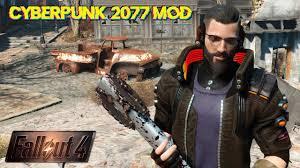 Cyberpunk 2077 - Fallout 4 Mods - YouTube