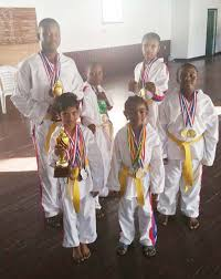 White Tiger Martial Arts Academy in house tourney …Aiden Kirton (Tiny  Tigers) and Tyrese Hall (Young Tigers) emerge overall champs – Kaieteur News