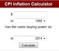 How Do I Calculate The Inflation Rate Inflationdata Com