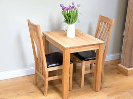 small oak table dining and two chairs tables within chair inspirations 10