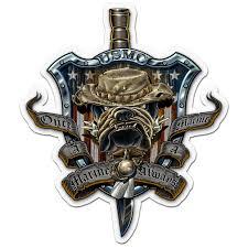 Once A Marine Always A Marine Once A Marine Always A Marine Decal North Bay Listings