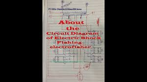 here show about circuit diagram of electric shock fishing here show about circuit diagram of electric shock fishing electrofisher components
