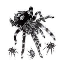 тату эскизы паук