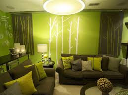 Projects Idea Green And Brown Living Room Modest Ideas Modern On For Dark  Lime