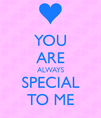 You Are Special For Me Always