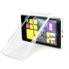 Transparent Back Case for Nokia 7710 ...