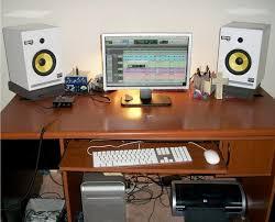 chic show us your studiohome setup page gearz pro audio inside studio desk setup
