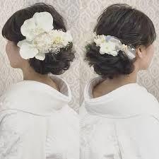 白無垢に似合う洋髪アレンジまとめ Marryマリー Wedding Ideas