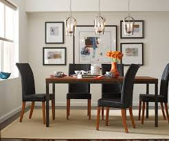 lighting showrooms s gather pendants over dining room table contemporary dining room