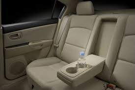 2007 mazda mazda3 s touring sedan rear interior