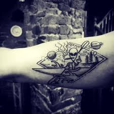 Kayaking Alien Tattoo Album On Imgur