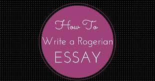how to write a rogerian essay essay writing