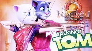 ♛♛♛BAHUBALI 2♛♛♛ Trailer Talking Tom and Angela Virsion - YouTube