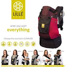 Lille Baby Complete Airflow 6in1 Baby Carrier Charcoal Berry