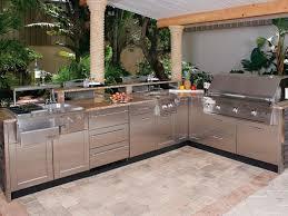 Stainlesssteeloutdoorkitchencountertops EVA Furniture - Outdoor kitchen countertop ideas
