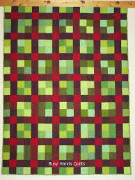 Square Quilt Patterns: 7 Simple Square Quilt Designs & Nine Patch Plaid Quilt Adamdwight.com