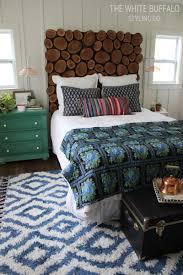 rustic bohemian master bedroom