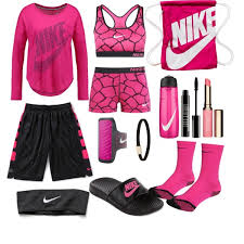 nike outfits. pink nike basketball outfit outfits