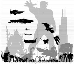 Comic Book Size Chart Its Like A Kind Of Some Colossal Characters From Movies And