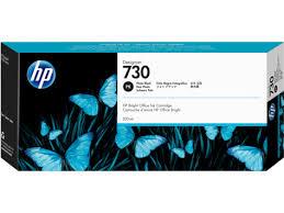 <b>HP 730 300-ml Photo</b> Black DesignJet Ink Cartridge P2V73A