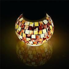solar party light solar party lights elegant mosaic glass ball garden lights color changing led solar