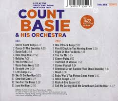 Count Basie & His Orchestra - Live at the Savoy Ballroom New York 1954 -  Amazon.com Music
