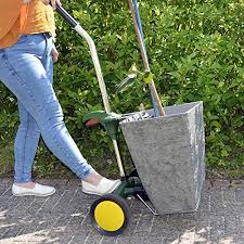 azuma plant pot mover trolley with