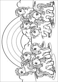 Kleurplaat My Little Pony My Little Pony Coloring Pages Horses