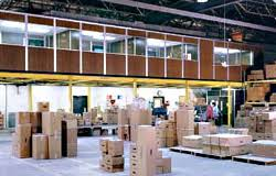 mezzanine office. As A Single Source Supplier, PortaFab Provides Greater Engineering Control And Enables Us To Coordinate All Aspects Of The Project With Our Distributors. Mezzanine Office
