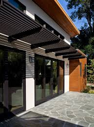 black trim cedar wood clean doors patio