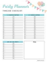 Party Planer 9 Free Party Planning Printables To Keep You Organized