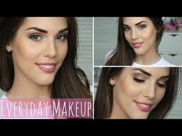 everyday neutral makeup tutorial daytime work appropriate