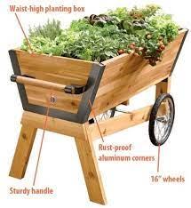 raised garden beds on wheels arka