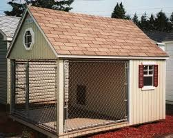 ideas about Large Dog House on Pinterest   Dog Houses  Dog    Homemade Dog Kennel Plans for large dogs   Large Wood dog kennel   Wooden Dog House