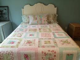 Best 25+ Shabby chic quilts ideas on Pinterest | Pink quilts ... & Shabby Chic Quilt, MADE TO ORDER Tanya Whelan Shabby Chic Quilt, Tanya  Whelan Fabrics Adamdwight.com