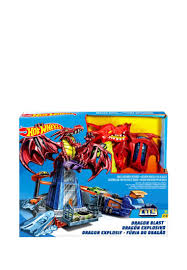 <b>Пусковая установка Hot Wheels</b> Битва с драконом DWL04 ...