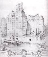 architectural drawings of buildings. Plain Buildings Proposed East River Waterfront Project By Rosario Candela To Architectural Drawings Of Buildings