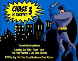 Personalized Superhero Birthday Invitations Batman Superhero Hero Birthday Party Invitations Personalized Custom