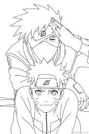 Best Coloring Pages Images On See More Naruto Kakashi Staranovalja