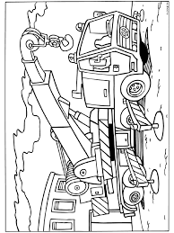 Kleurplaat Takelwagen Kleurplaten Construction Coloring Pages