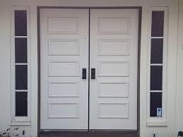 white double front door. Simple White Double Front Door River Doors 66 In X 81625 Rochester Creative Of