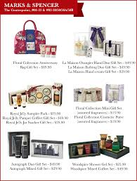 marks spencer offer a great range of bath beauty sets ideal for gifts this and not just for women either there s something for the gents as