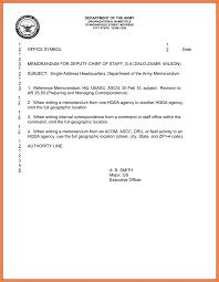 Memorandum For Record Army Example.memorandum For Record Example Ar ...