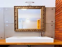 silver framed bathroom mirrors. Framed Mirrors For Bathrooms Popular Bathroom Over Vanity Gold Of Silver