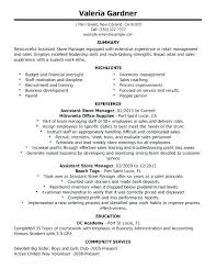 Retail Manager Resume Template Gorgeous Retail Management Resume Retail Manager Resumes Retail Supervisor