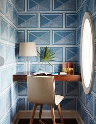 wallpapered office home design. Delighful Home Wallpapered Office Home Design Charming On Interior Intended For 54 Best  Beautiful Offices Images Pinterest 5 And R